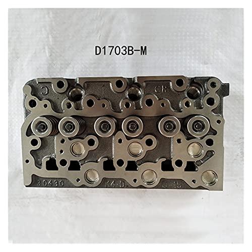 WUYUNXIAN D1703 D1703E D1703B D1703EB Cabe DE Cilindro Caja para KUBOTA KX91-3 U35 Cargador R420 R420S Tractor L2900 L3000 L3010 L3130 Bobcat 238 325 (Color : Replacement Type 2)