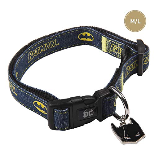 Cerdá Life'S Little Moments hondenhalsband, Batman Dc Comics, officieel licentieproduct, 85 g