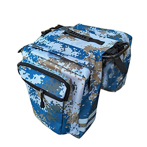 JMsDream Bike Panniers Bicycle Bags Waterproof Grocery with Adjustable Straps Hooks Carrying Handle Large Pockets