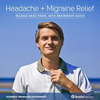 Headache and Migraine Relief Session audiobook cover art