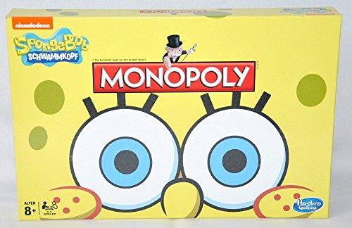 Hasbro B2180100 - Monopoly Spongebob, Brettspiele
