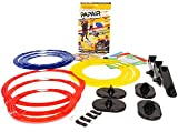 Papair Indoor Obstacle Course Game: Great for Kids Drones, Toy Helicopters & Paper Airplanes   Easy Shooting Target for Toy Guns, Bow & Crossbow   Create Party Games or Drone Race with 9 Rings