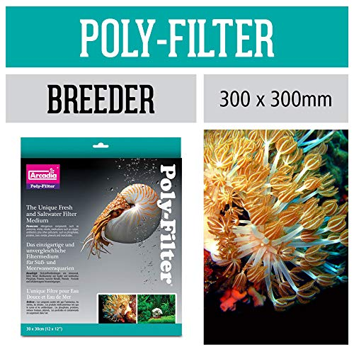Aquarium Systems A009 Poly-Filter, Groß, 30 x 30 cm