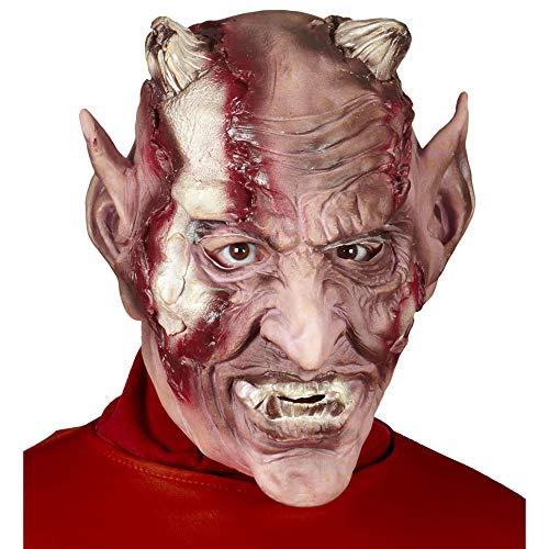 Maschera diavolo Taglia unica Adulto
