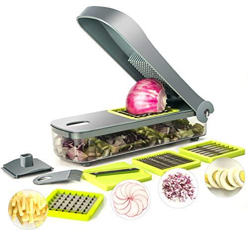 (50% OFF Coupon) 4 in 1 Vegetable Food Mandoline Slicer $15.00