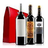 Premium Rioja Red Wine Trio in Gift Box - 3 Bottles (