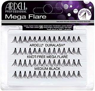 (3 Pack) ARDELL Duralash Knot Free Mega Flare Individual Black Lashes Medium