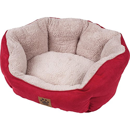 Precision Brand Clamshell Beds Dog Bed, Small, Red