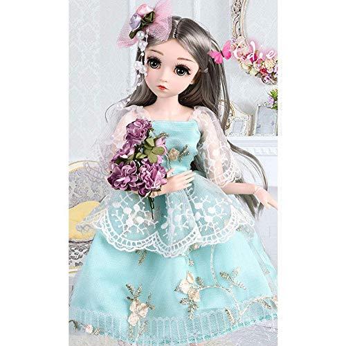 mildily Puppenset Für Mädchen, Modepuppenset Mädchen Einzel Prinzessin Puppe Smart Puppe 18 Zoll Simulationspuppe, Geeignet Für Kinderspielzeug