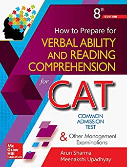 How to Prepare for Verbal Ability and Reading Comprehension for the CAT by [Arun Sharma, Meenakshi Upadhyay]