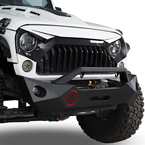 Fragmentation Front Bumper w/Winch Plate &...