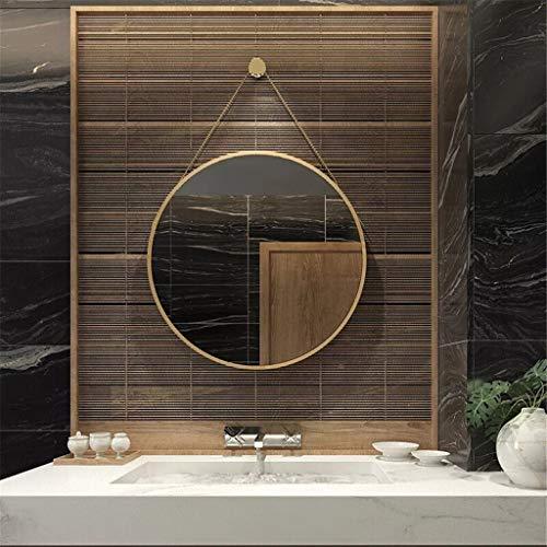 DALL make-up spiegel Scandinavische stijl spiegel wandsieraad badkamer eenvoudig en modern badkamerspiegel toilet grote ronde spiegel
