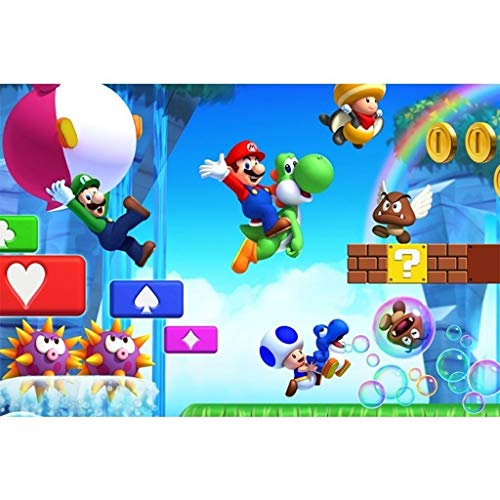 High-grade B Wooden Puzzle Nintendo Game Poster, Wooden Jigsaw Puzzles, Super Mario Galaxy Wii, Basswood Perfect Cut & Fit, 300/500/1000 Pieces Boxed Photography Toys Game Art Painting For Adults & Ch