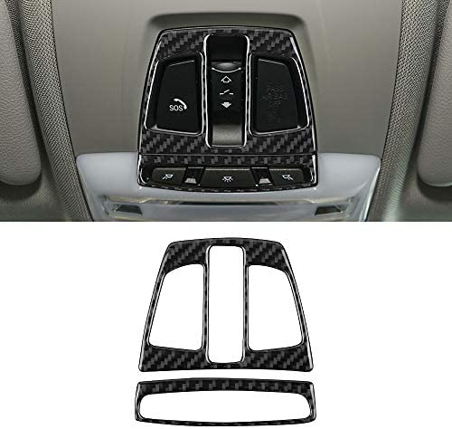 MICOOS Compatible with Carbon Fiber Front Reading Light Decoration Top Lamp Cover for BMW 3 product image