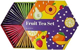 ACORUS Fruit Luxury Tea Set - 6 Varieties (60 Tea Bags)