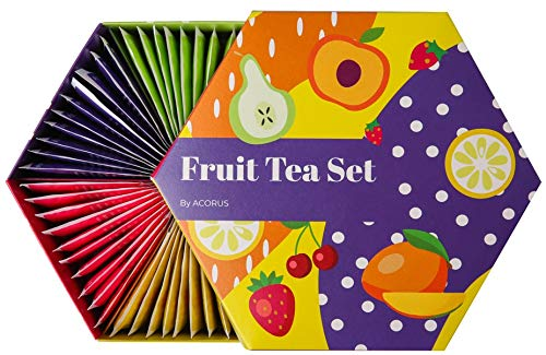 ACORUS Fruit Luxury Tea Set - 6 varieties (60 tea bags)