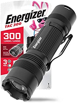 Energizer TAC 300 IPX4 Water Resistant Tactical Flashlight
