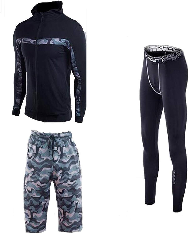 KCaNaMgAl Kompressionsanzug Sportbekleidung für Herren, geeignet für Fitnessbekleidung