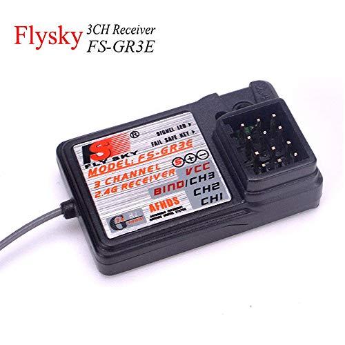 FlySky FS-GR3E 3CH RC Empfänger (2,4 Ghz, AFHDS), für FS-GT2 GT3 GT3B GR3C RC Auto Boot Sender