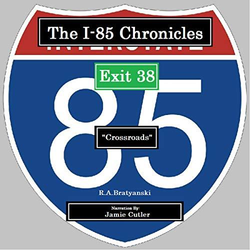 "Exit 38 ""Crossroads"" audiobook cover art"