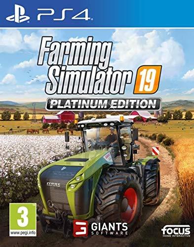 PS4 - Farming Simulator 19 - Platinum Edition - [PAL UK - MULTILANGUAGE]