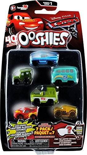 Mix 3 Embouts pour Stylo Crayon Feutre Ooshies 76457.4300 Pack 4 Figurines Cars 3