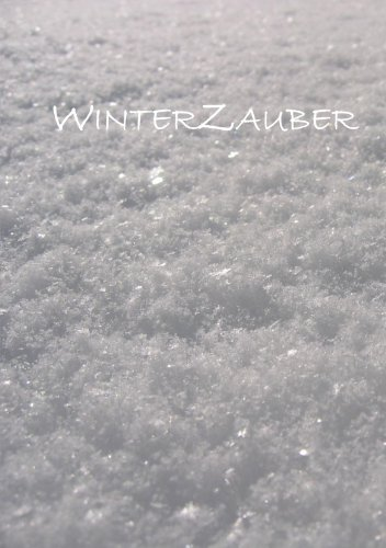 Notizbuch, Notizheft DIN A5 - Winterzauber: liniert, 108 Seiten