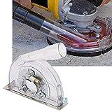Protezione anti-polvere, protezione della polvere di taglio per smerigliatrici angolari 100/125/150mm e disco per sega 90/115/125mm