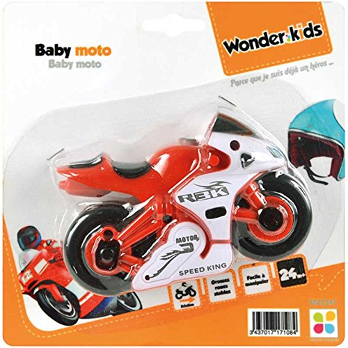 Wdk Partner - YF1602A001 - Baby Moto Friction - Modèle Aléatoire , color/modelo surtido