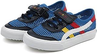 WARRIOR Summer Children's Casual Shoes キッズスニーカー 網靴 運動靴 通気靴 カジュアル スポーツシューズ マジックテープ 男女兼用 子供 ベビー 滑り止め ランニングシューズ