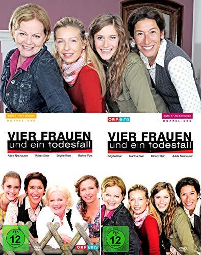 Vier Frauen und ein Todesfall - Die komplette 5. + 6. Staffel (4-DVD)