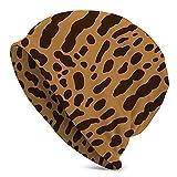 DISGOWONG Cheetah or Ocelot Beanie Fashion Baggy Hat Slouchy Skull Cap for Men Women