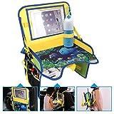 ECOOLBUY multifunción para niños viajes asiento de coche portátil bandeja de...