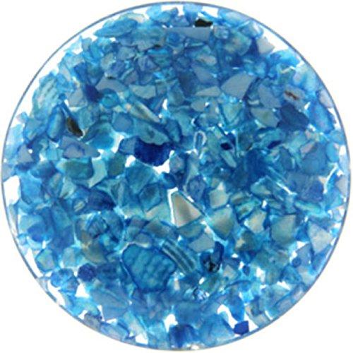 """MY iMenso """"blue in resin"""" ref. 33-0549 - Medallón en resina azul de 33mm para completar con insignias MY iMenso de 33mm"""