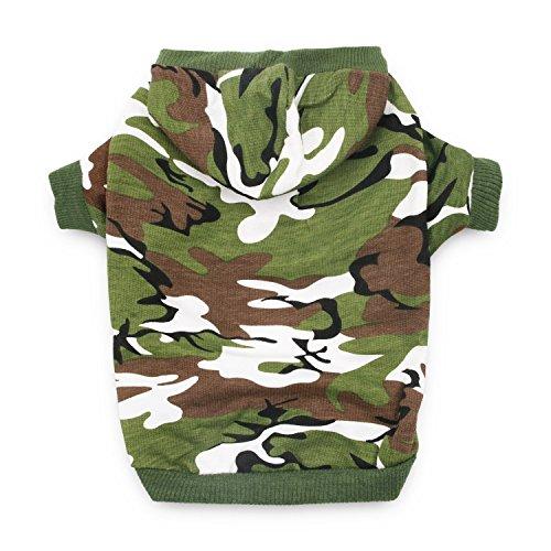 DroolingDog Dog Clothes for Medium Dogs Boy Dog Hoodie XL Dog Shirts for Dogs, XL, Green