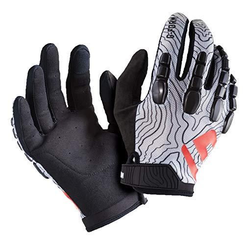 G-Form Pro Trial Cycling Gloves-Mountain Bike Racing BMX, monopatín, Patines, Bicicletas eléctricas,...