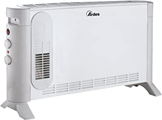 Ardes 4C04 Fan electric space heater Interior Blanco 2000 W - Calefactor (Fan electric space heater, IPX0, Interior, Piso, Blanco, 2000 W)