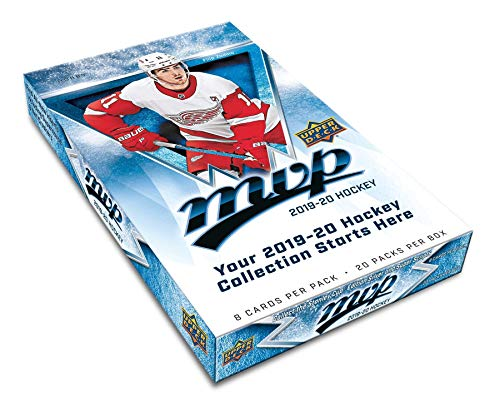 2019/20 Upper Deck MVP NHL Hockey HOBBY box (20 pks/bx)