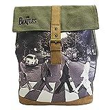 BEATLES ビートルズ (来日55周年記念) - Abbey Road/Disaster (U.K.ブランド) / バックパック 【公式/オフィシャル】