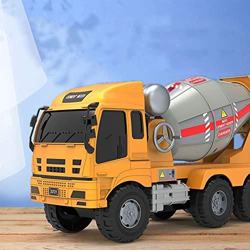 Xolye Große Outdoor-persönlich interaktives Spielzeugauto-Simulation-Technik-Fahrzeug-Spielzeug-Betonmischer-LKW-Zement-Tank-LKW-Pumpe-LKW-Junge Kinderspielzeugauto