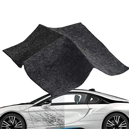Nano Magic Tuch Auto Kratzer Reparatur Tuch Car Scratches Remover Nano Magic Cloth Car Scratch Repair Kit für Oberflächenreparatur, Einfache Reparatur von Lackkratzern, Kratzern, Wasserflecken
