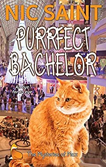 Purrfect Bachelor (The Mysteries of Max Book 45) by [Nic Saint]