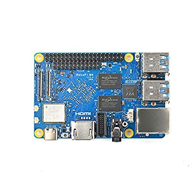 youyeetoo NanoPi M4V2 RK3399 SoC Based ARM Board Compatible with Ports and interfaces for RPi B3+ Supports Android 8.1 and Ubuntu Desktop 18.04 for deep Learning?Game Machines, Blockchain