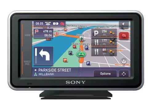 Sony NV-U53G Navigatie-eenheid met volledige kaarten van het Verenigd Koninkrijk, Ierland en Noord-Frankrijk (Down To Paris)