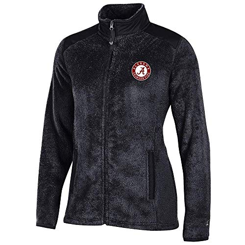 Alabama Crimson Tide NCAA Full Zip Women's Team Logo Flurry Jacket (XL)