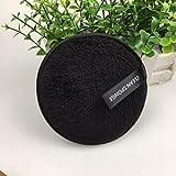 Removedor de almohadillas de tela de microfibra Yesmile ❤️ Almohadillas Reutilizables Suaves Removedor de Maquillaje, Almohadillas de Removedor Toalla