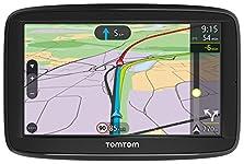 TomTom Via 52 Europe Traffic Navigationsgerät (13 cm (5 Zoll), Sprachsteuerung, Bluetooth Freisprechen, Fahrspurassistent, 3 Monate Radarkameras (auf Wunsch), Karten von 49 Ländern Europas)©Amazon