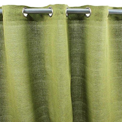 Thedecofactory Cameleon Plaid Salsa, Polyester, Vert Mousse, 150 x 250 x 3 cm