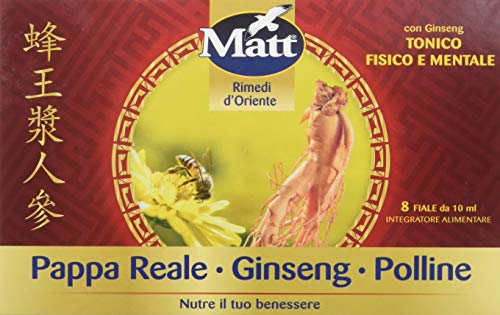 Matt - Pappa Reale Polline Ginseng - Integratore Alimentare...