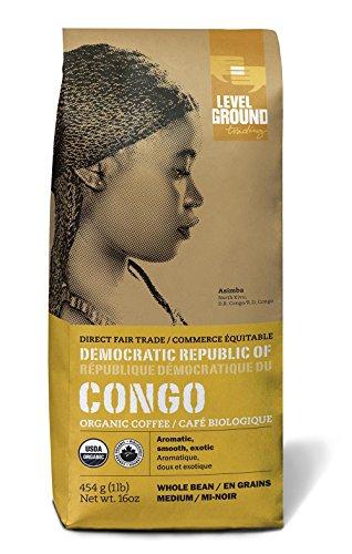 LEVEL GROUND Congo Medium Bean, 454 Gram
